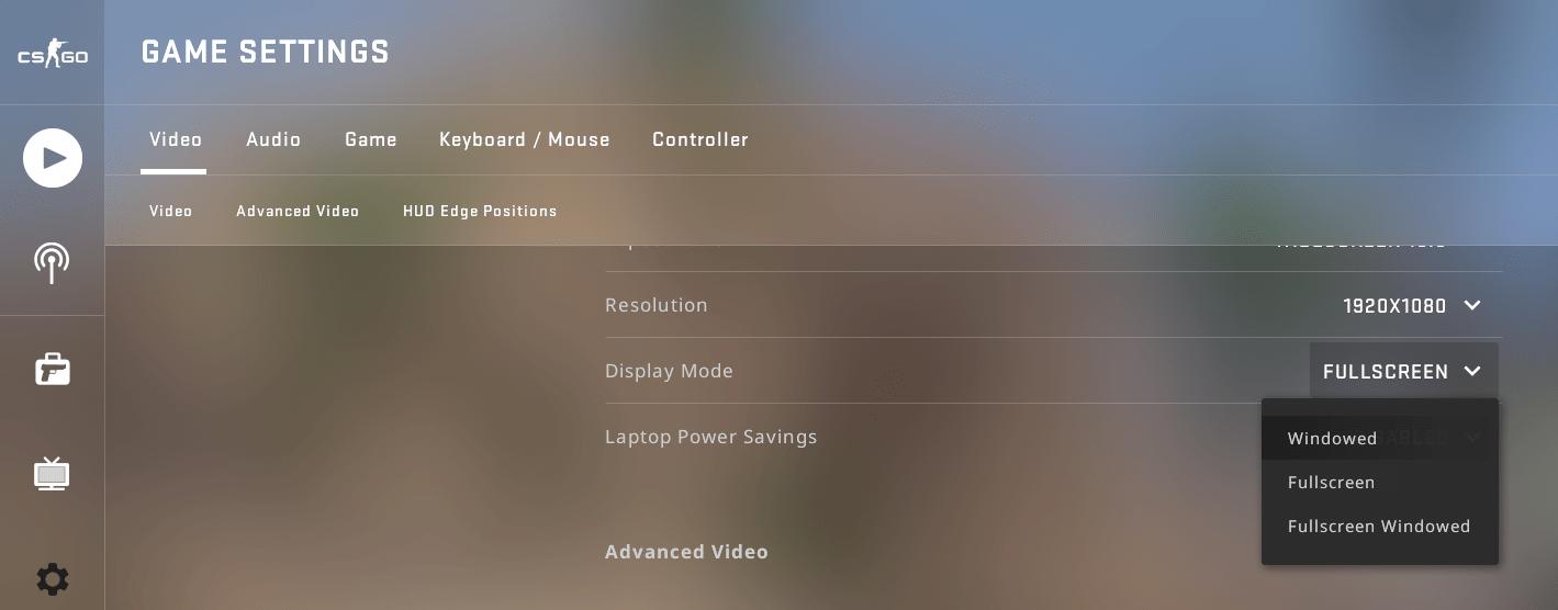 Open games in windowed mode to fix discord screen share black screen