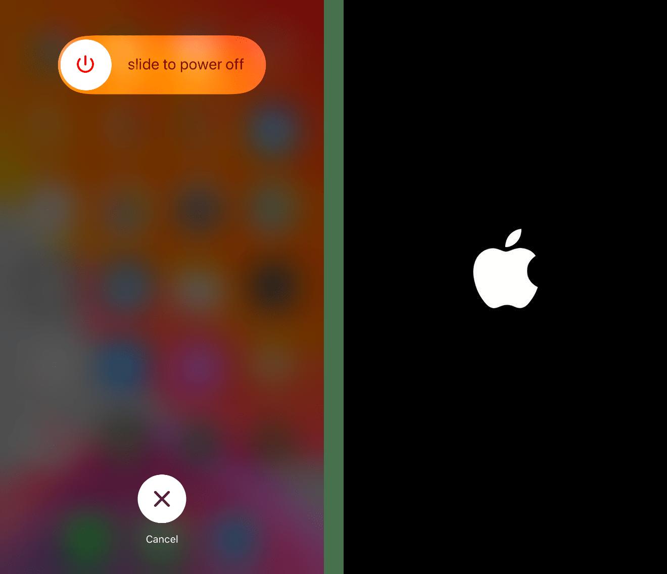 restarting iPhone to fix TikTok video not posting