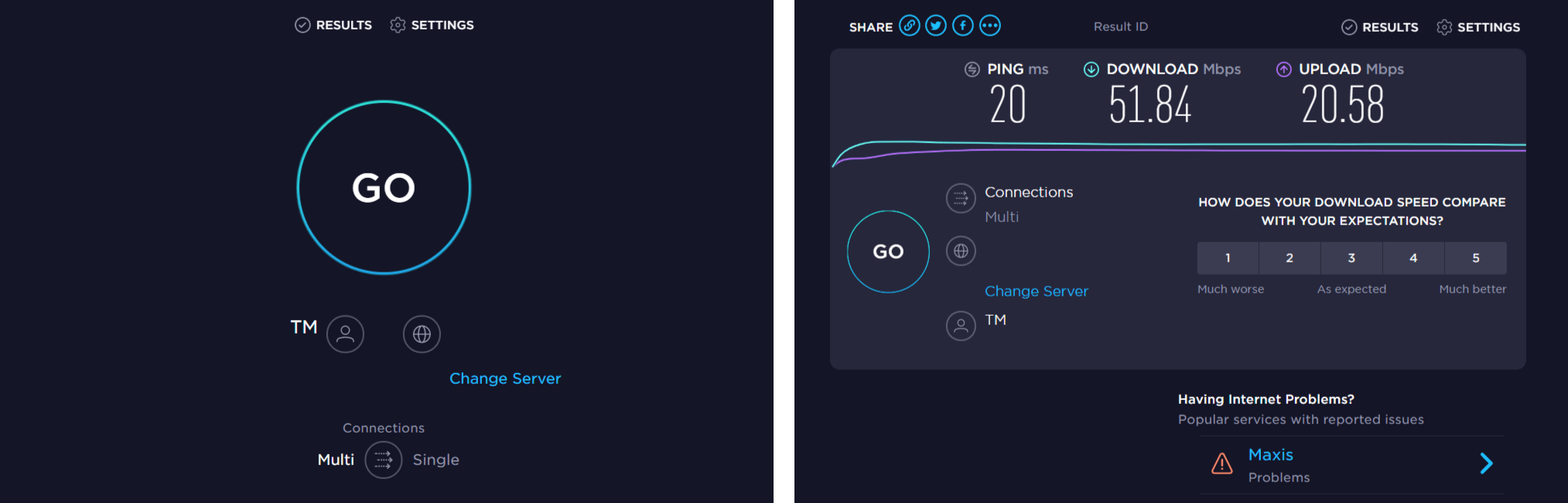 check internet speed to fix zoom screen sharing not working