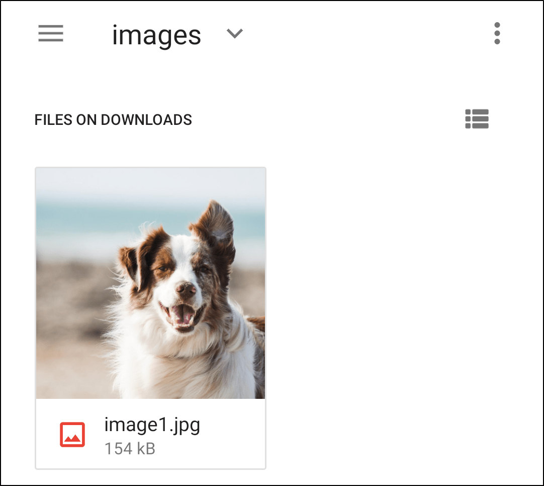 how to save pictures from google docs on iPhone and Android