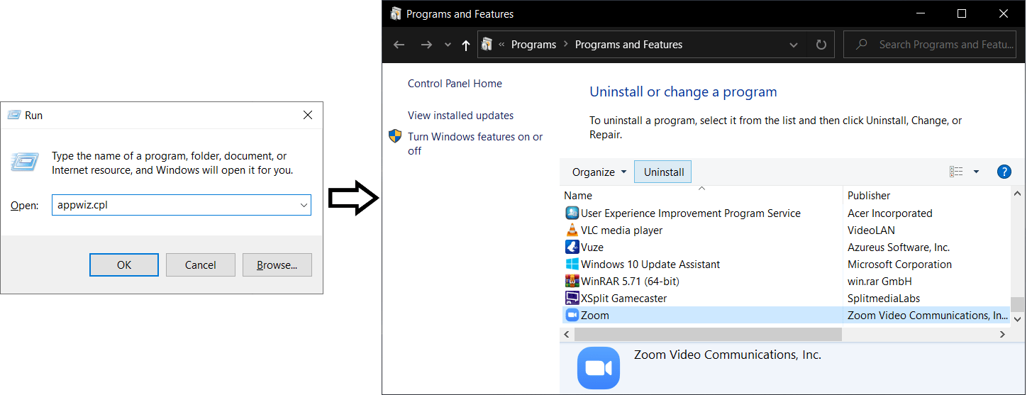 reinstall zoom on windows to fix zoom screen sharing not working