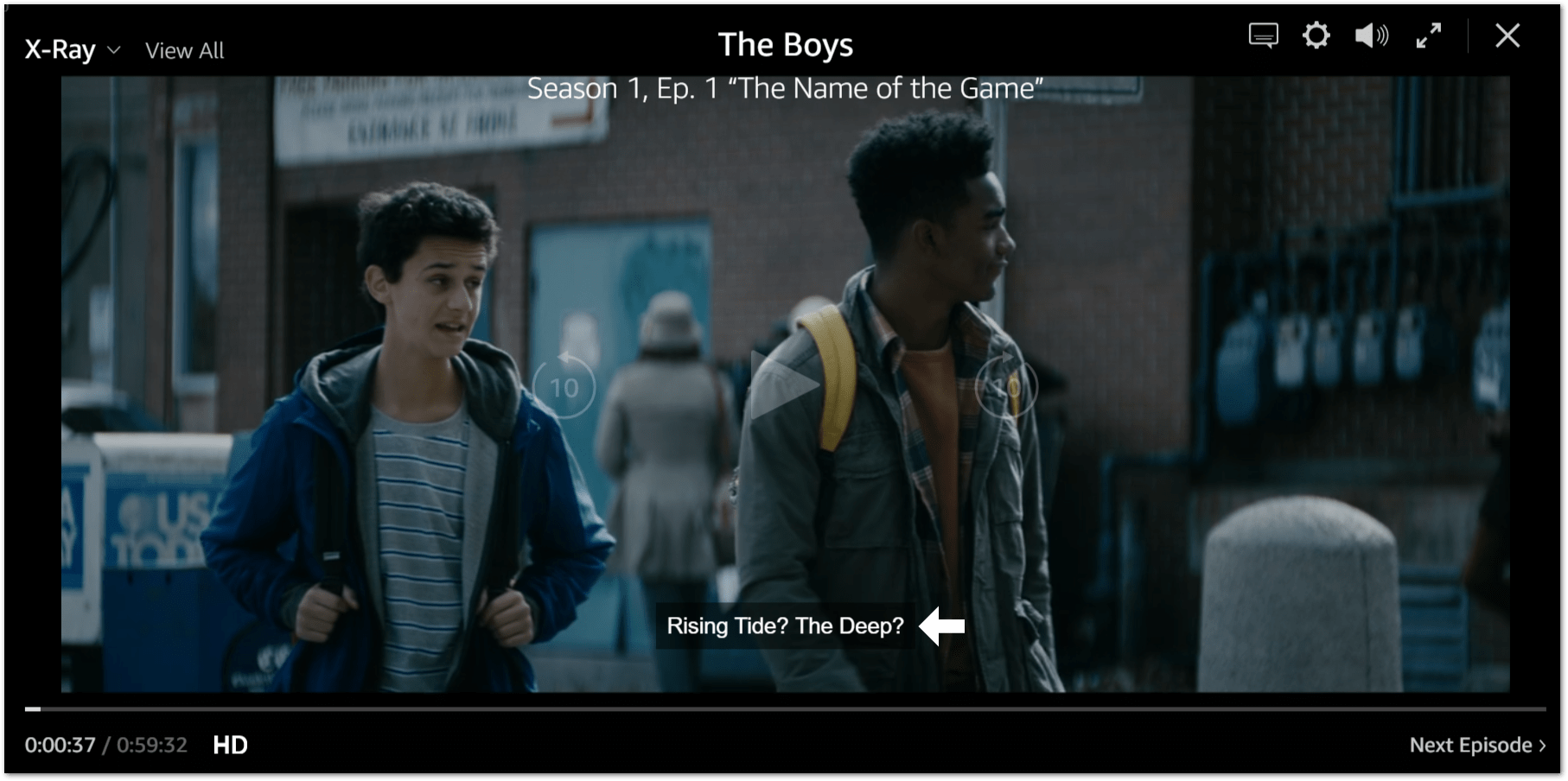Amazon Prime Video subtitles too small